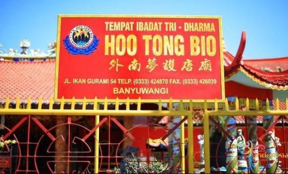 Klenteng Hoo Tong Bio Banyuwangi