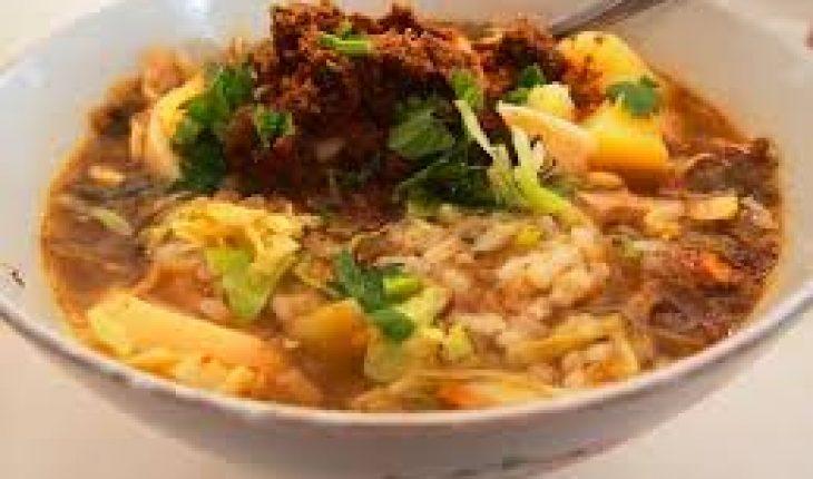 Soto daging Rahayu malang - Tempat wisata kuliner Soto Malang