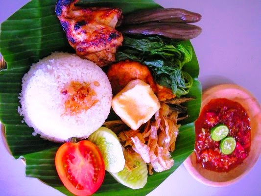 kuliner nasi tempong khas banyuwangi