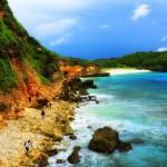 Obyek Wisata Pantai Tanjung Bloam Lombok.