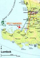 peta pulau gili nanggu lombok