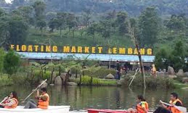 Tempat Wisata Floating Market Lembang Bandung