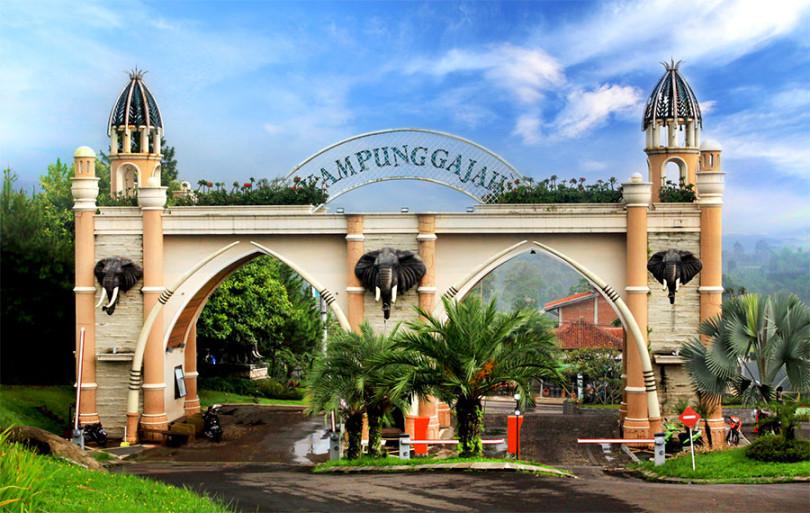 Wahana Tempat Wisata Seru Kampung Gajah Lembang Bandung