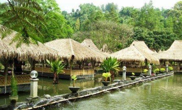 Wahana Wisata Arena Pemancingan Bonita Lembang Bandung