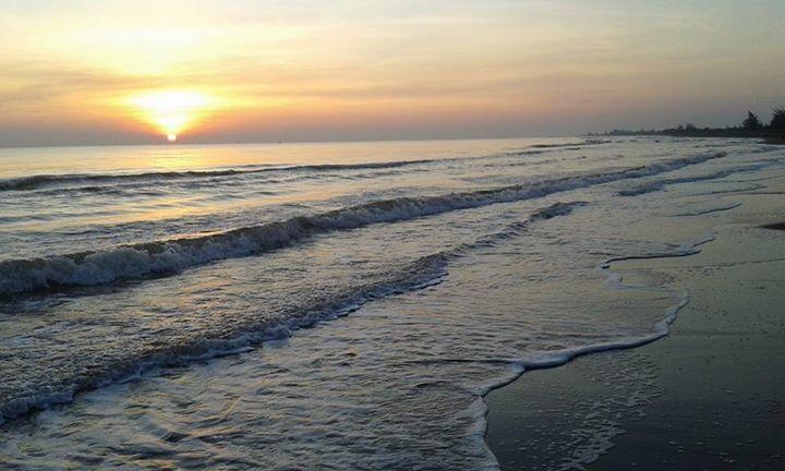 Tempat wisata Pantai Wonokerto Pekalongan