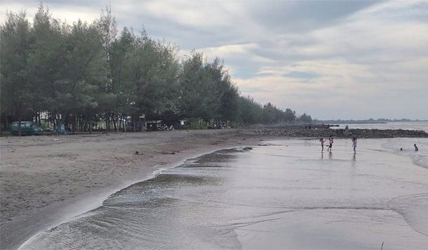 Tempat wisata pantai depok indah pekalongan
