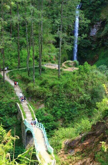 tempat wisata air terjun curug muncar pekalongan