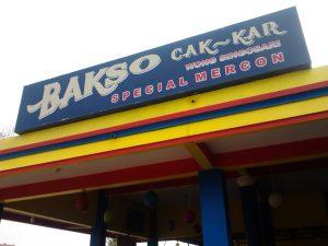 Bakso Cak Kar Malang - Wisata Kuliner Bakso Malang