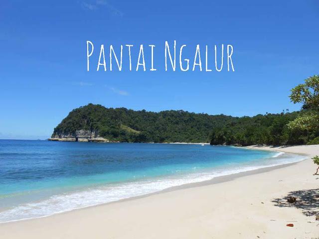 Pantai Ngalur Tulungagung - Tempat wisata pantaui