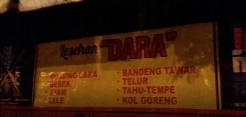 Lesehan Tiga Dara yogya