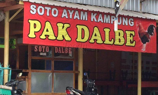 Soto Ayam Kampung Pak Dalbe jogja
