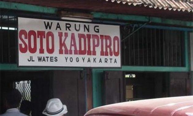 Soto Kadipiro Yogyakarta