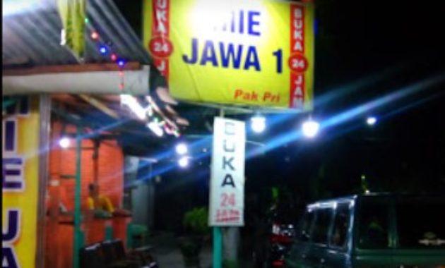 Depot Mie Jawa Pak Pri Nganjuk