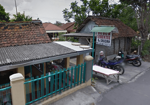 Tempat wisata kuliner Bubur Sruntul Bu Saudah