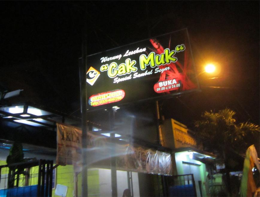 Warung Cak Muk Mojokerto