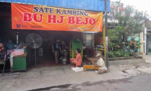 Warung Sate Kambing Bejo Solo