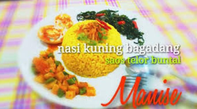 Rumah Makan Nasi Kuning Bagadang Manise Salatiga