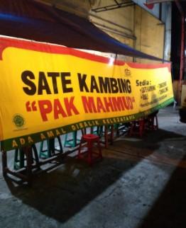 Warung Sate dan Tongseng Kambing Pak Mahmud Salatiga