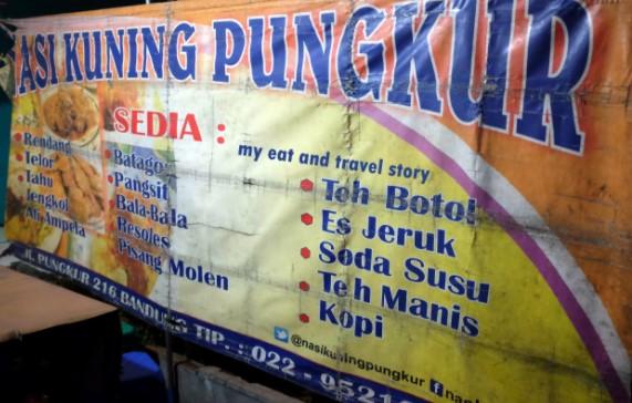Nasi Kuning Pungkur Bandung