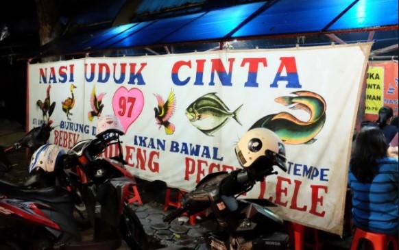 Nasi uduk cinta Bandung