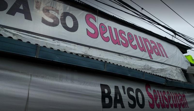 kedai bakso seuseupan Bogor