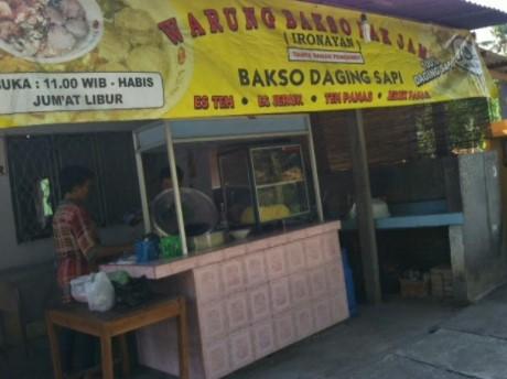 Bakso Pak Jam Yogyakarta