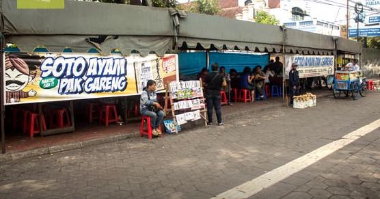Tempat Kuliner Soto enak di Yogya - Soto Pak Gareng
