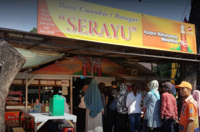 Tempat kuliner Batagor Bandung - Batagor Serayu