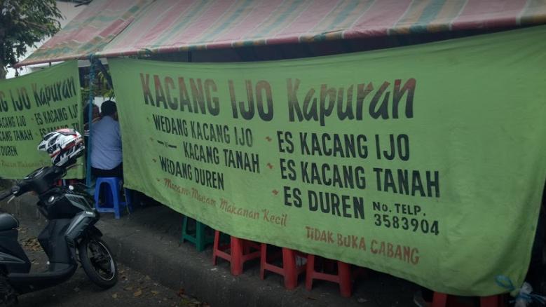 Wedang Kacang Kapuran Semarang