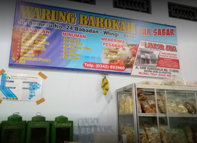 Ikan Uceng Warung barokah Pak Sabar