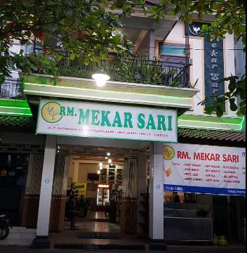 Rumah makan Mekar Sari Trenggalek
