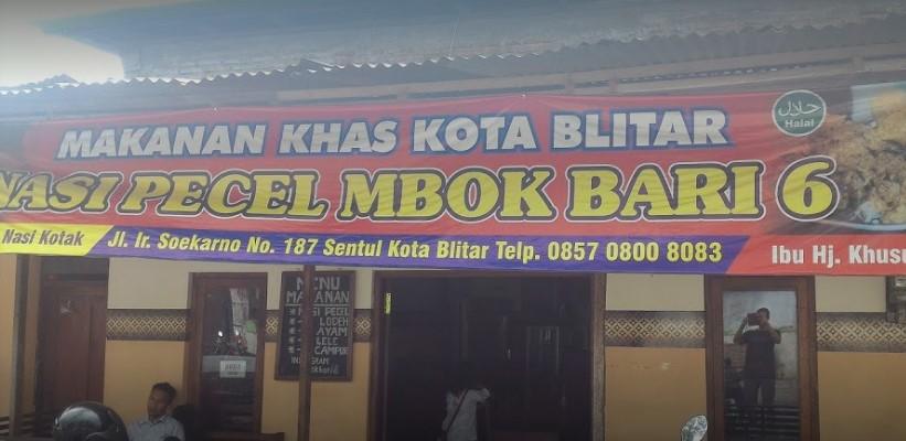 Warung pecel Mbok Bari