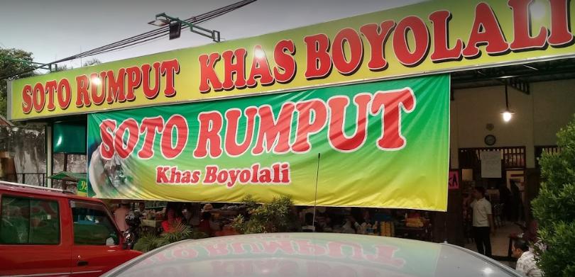 RM Soto Rumput Khas Boyolali