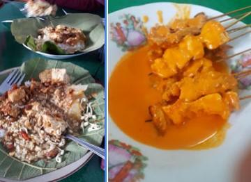 Nasi Tahu dan Sate Srepeh Bu Slamet Rembang