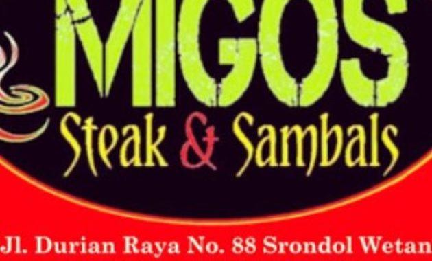 Migos Steak and Sambal
