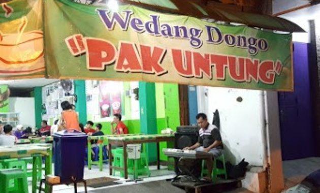 Wedangan Dongo Untung