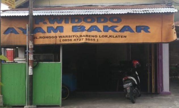 Ayam Bakar Pak Widodo Klaten