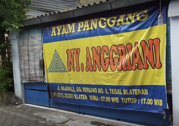Ayam Panggang Klaten Ny Anggraini