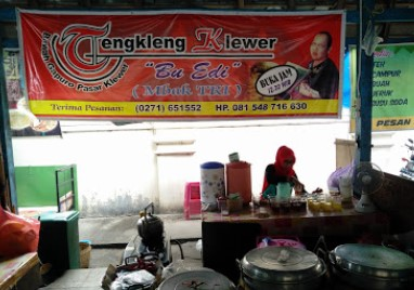 Warung Tengkleng Bu Edy Pasar Klewer