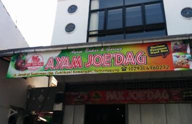 Ayam Bakar Pak Joe dag Temanggung