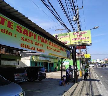 Rumah makan Sate Sapi Pak Kempleng