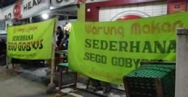 """Warung Makan """"Sego Gobyos"""""""
