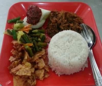 Nasi Empal Pengampon Surabaya